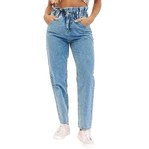 Bluenotes Denim High Rise Mom Jeans